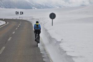 Jak ubrać się na rower zimą